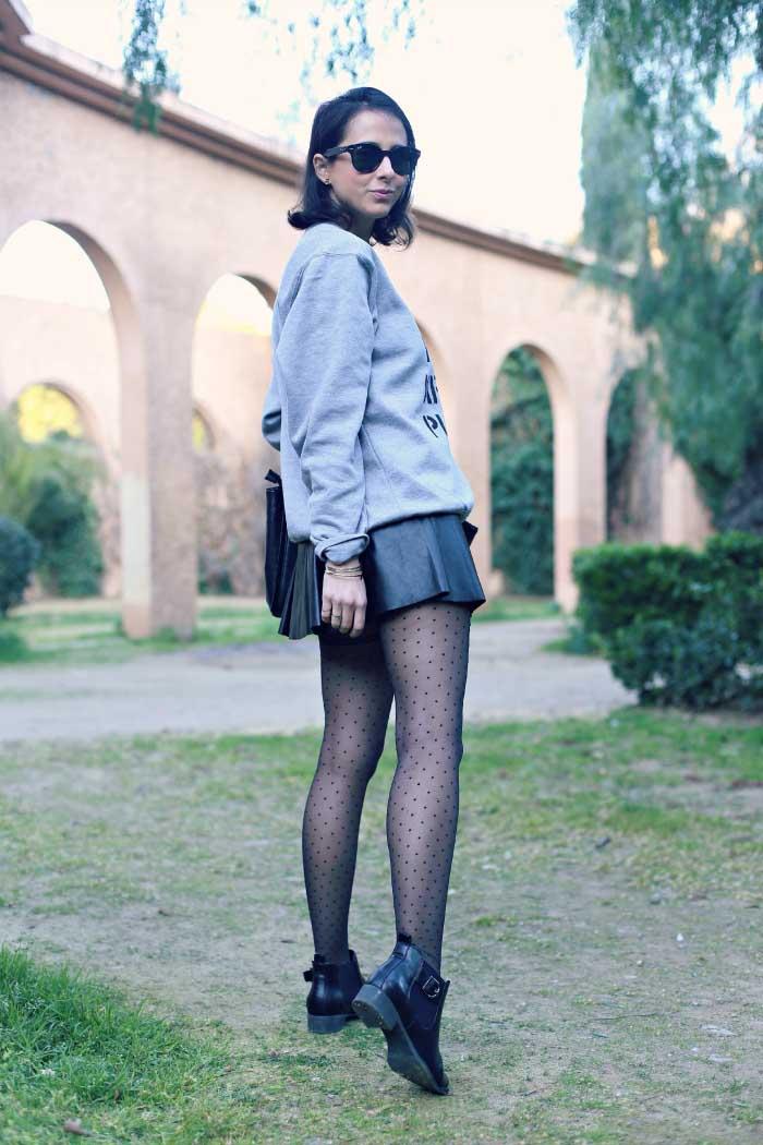 como-usar-falda-cuero