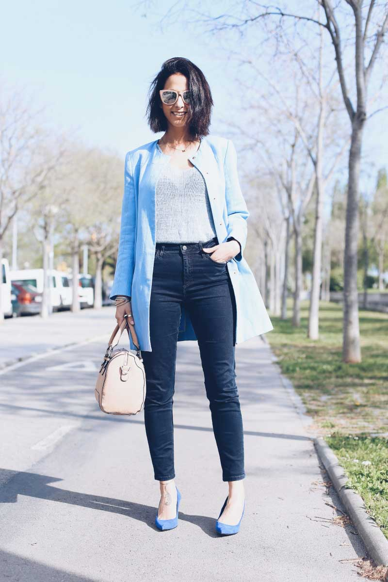style-in-lima-baby-blue-kimod-top-zara-coat-topshop-high-waisted-jeans-blue-suede-mid-heels-nude-bag-indi-and-cold