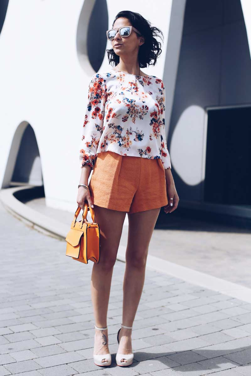 style-in-lima-shorts-a -la-cintura-naranjas-tendencias-primavera-verano-2014