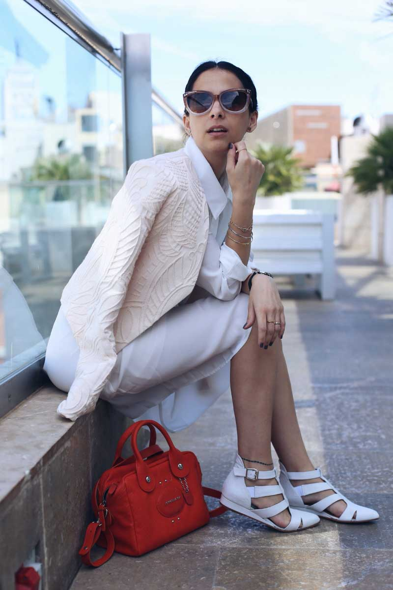 Style-In-Lima-Blog-Sandalias-Candem-Emma-Go-SS-14-Bolso-Longchamp-Naranja-SS14-Camisero-Zalando-Brunch-Hotel-Urban-Madrid