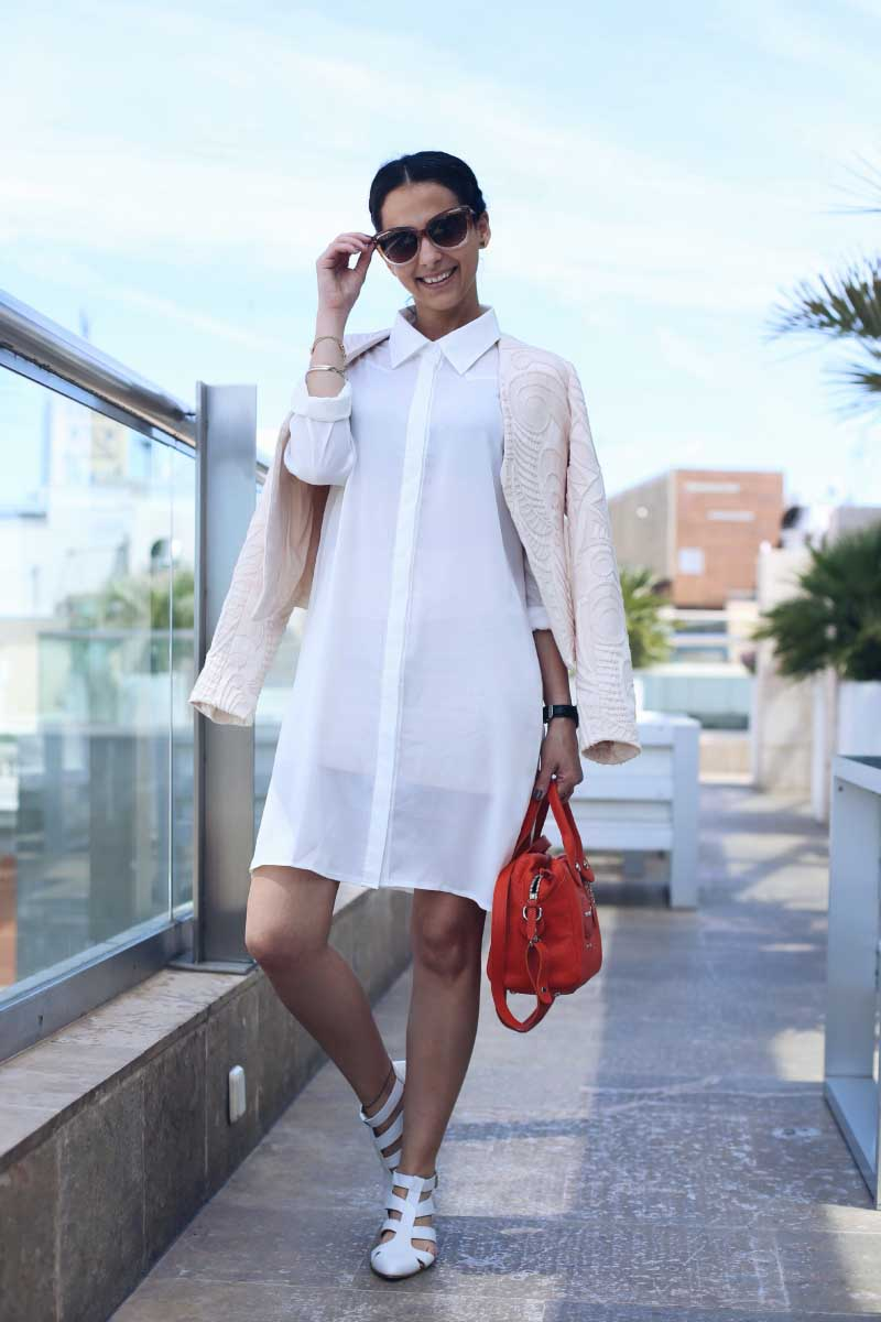 Style-In-Lima-Blog-streetstyle-Sandalias-Candem-Emma-Go-SS-14-Bolso-Longchamp-Naranja-SS14-Camisero-Zalando-Brunch-Hotel-Urban-Madrid