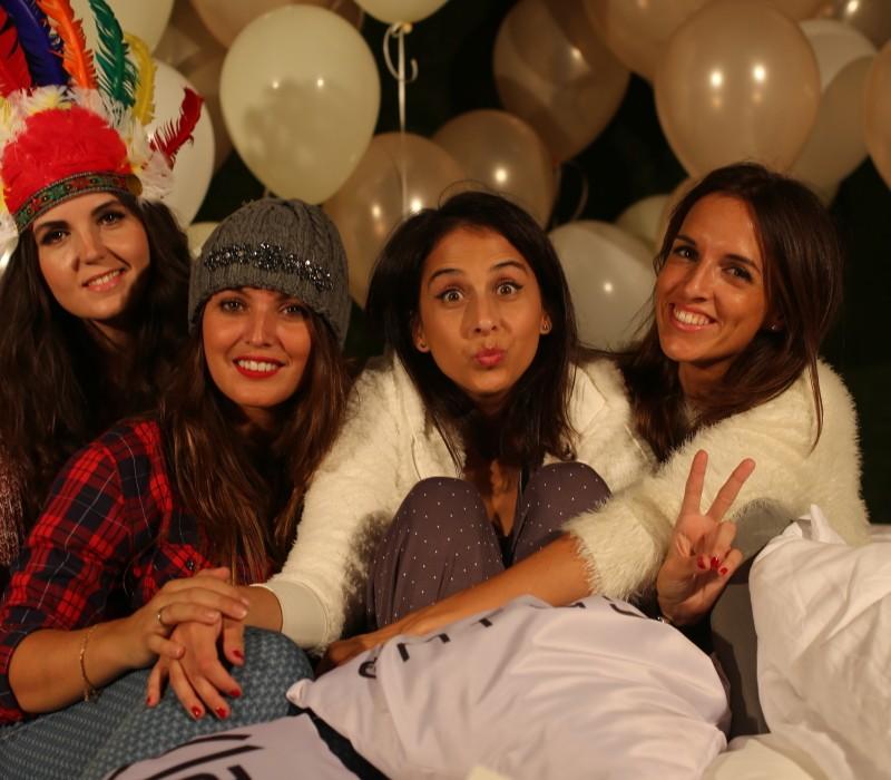 pijama party del corte inglés