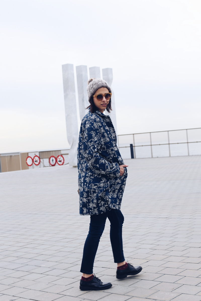 Como llevar una chaqueta kimono - Style in Lima
