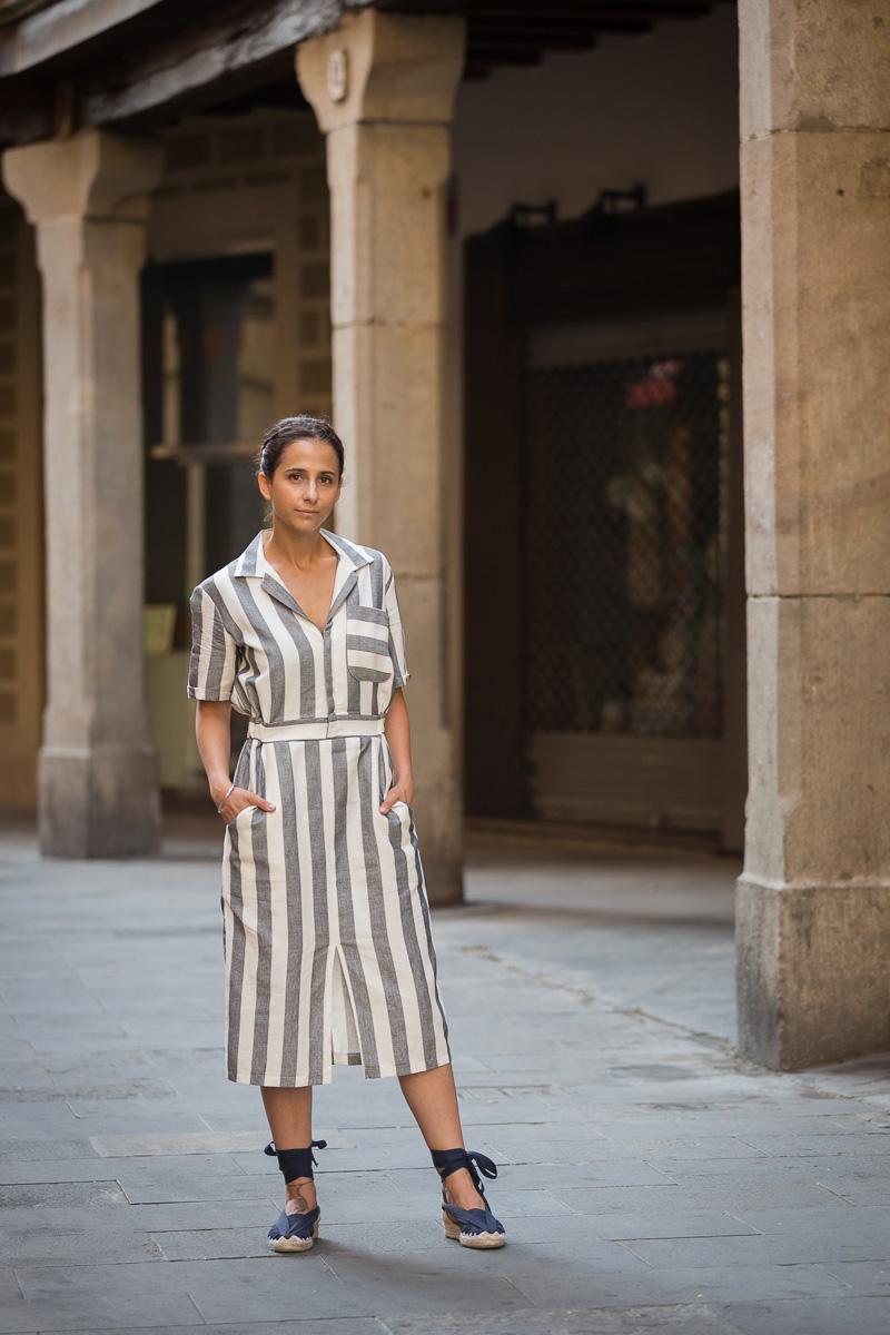 cómo llevar un vestido camisero