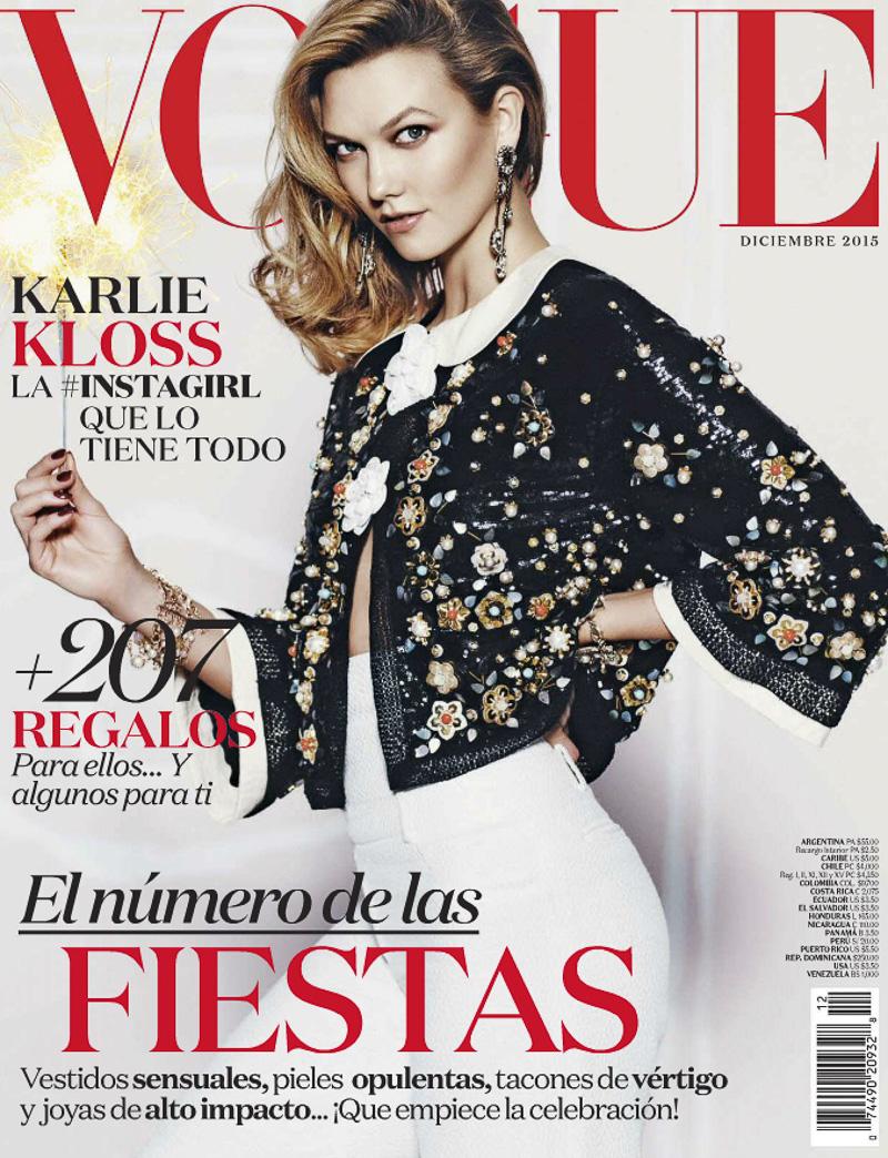Vogue México Diciembre 2015 Latinas en la Cima 2.0