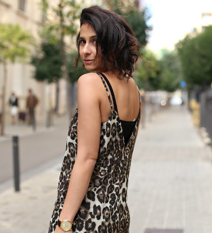 Leopard Cami Print Dress