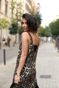 Leopard Cami Print Dress