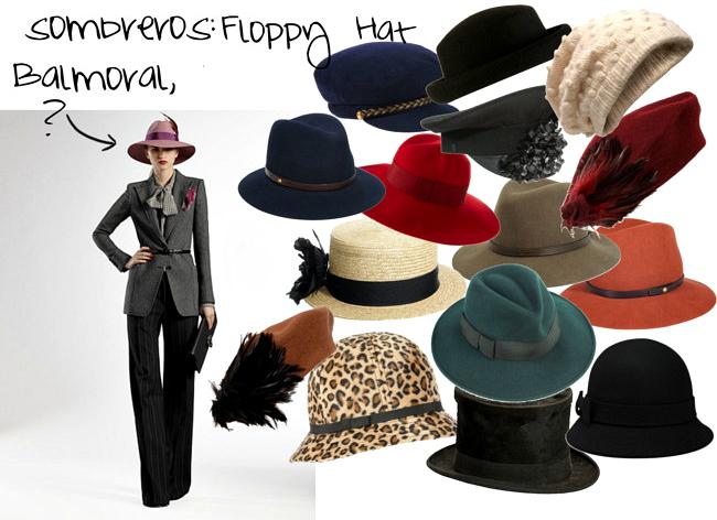 Mientras investigaba la definición de uno de los sombreros que tenía.  Encontré una página muy interesante (aquí) con cientos de modelos de  sombreros. d672e216f36