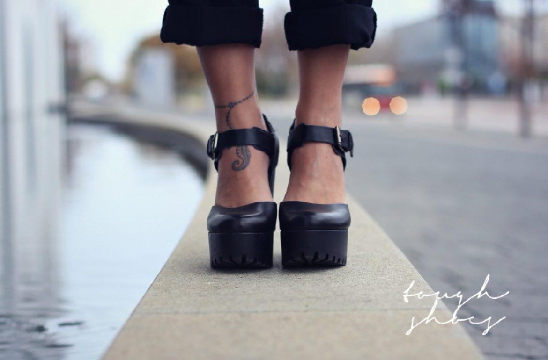 tough shoes