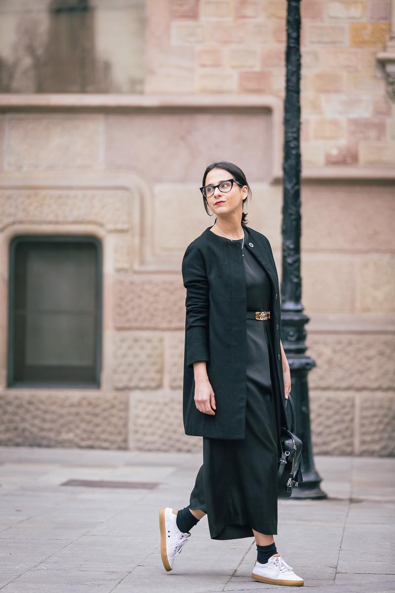 como vestir de negro