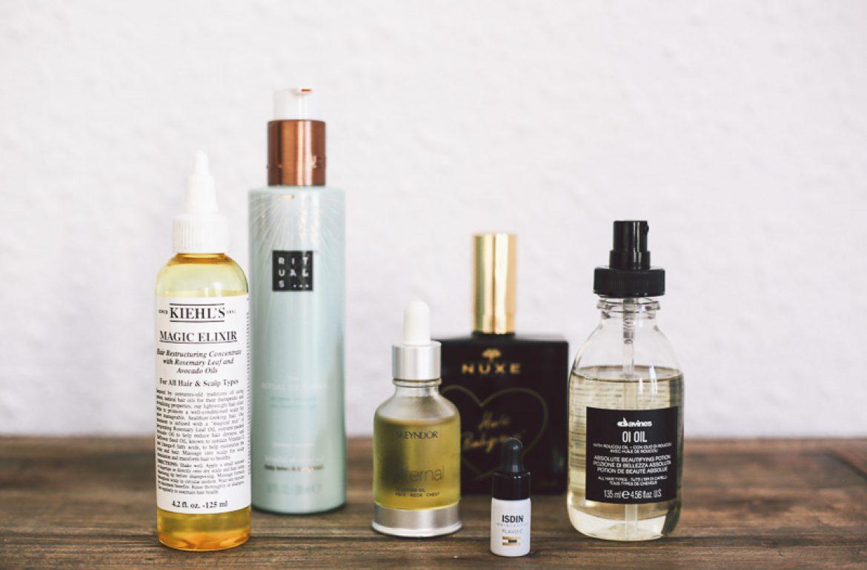 tutorial belleza aceite seco