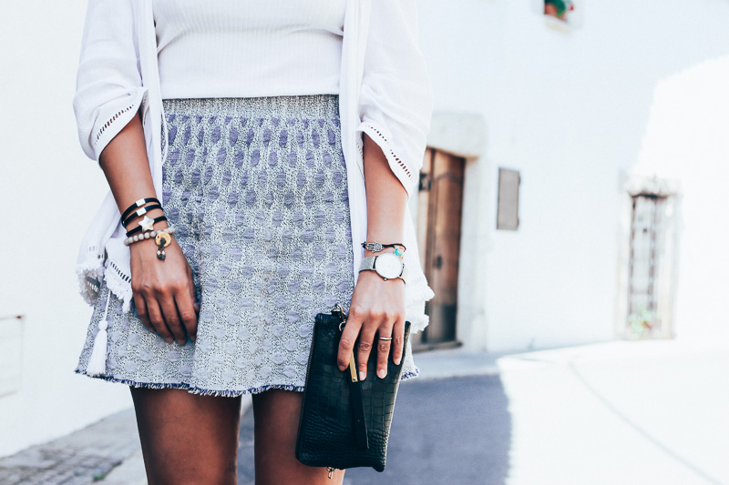 look costa brava falda marola style in lima