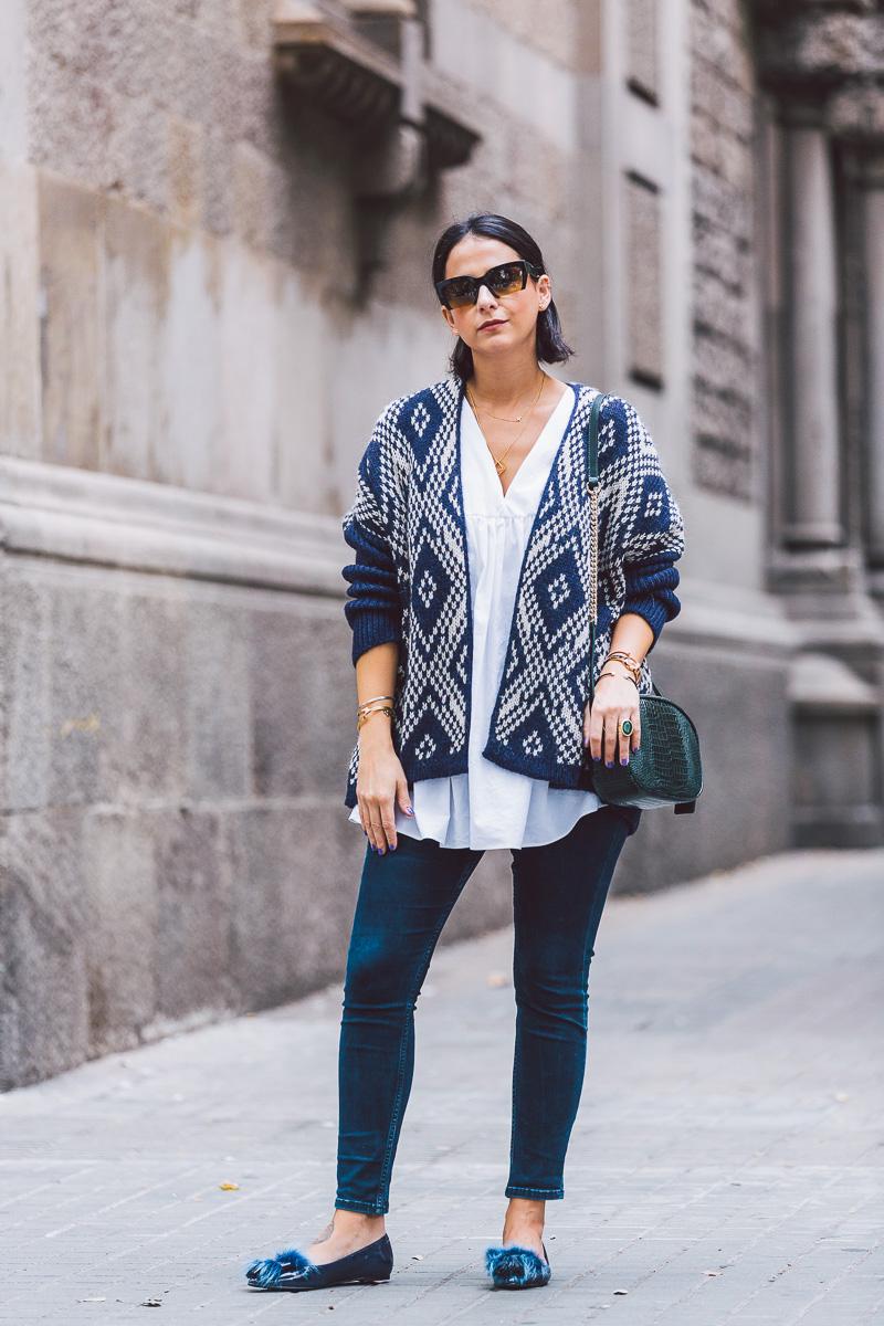 look oficina con chaqueta oversize por styleinlima