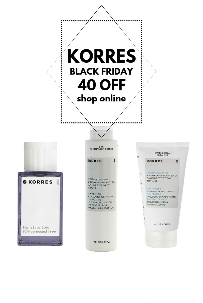 korres black friday
