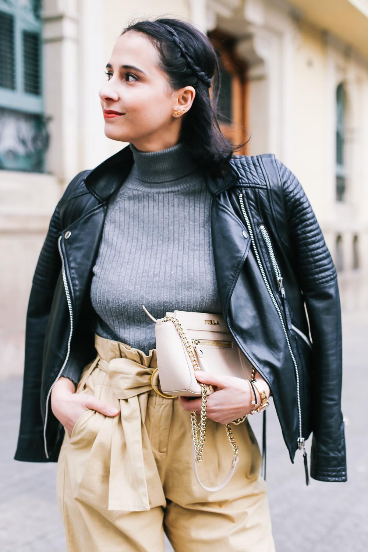chaqueta piel twist & tango