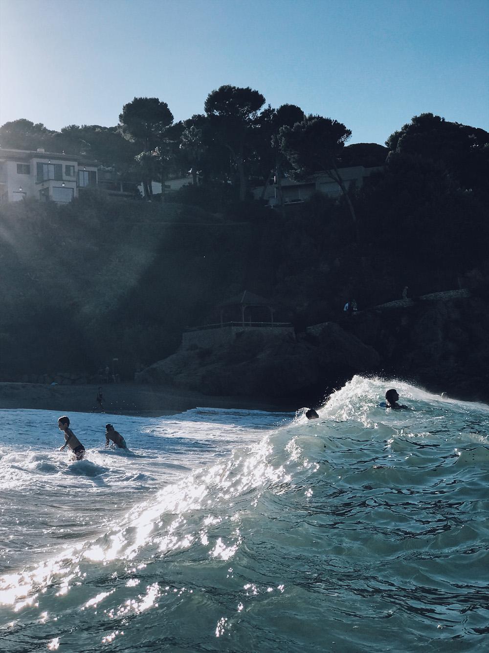 Calas, La Costa Brava en Girona, Cataluña