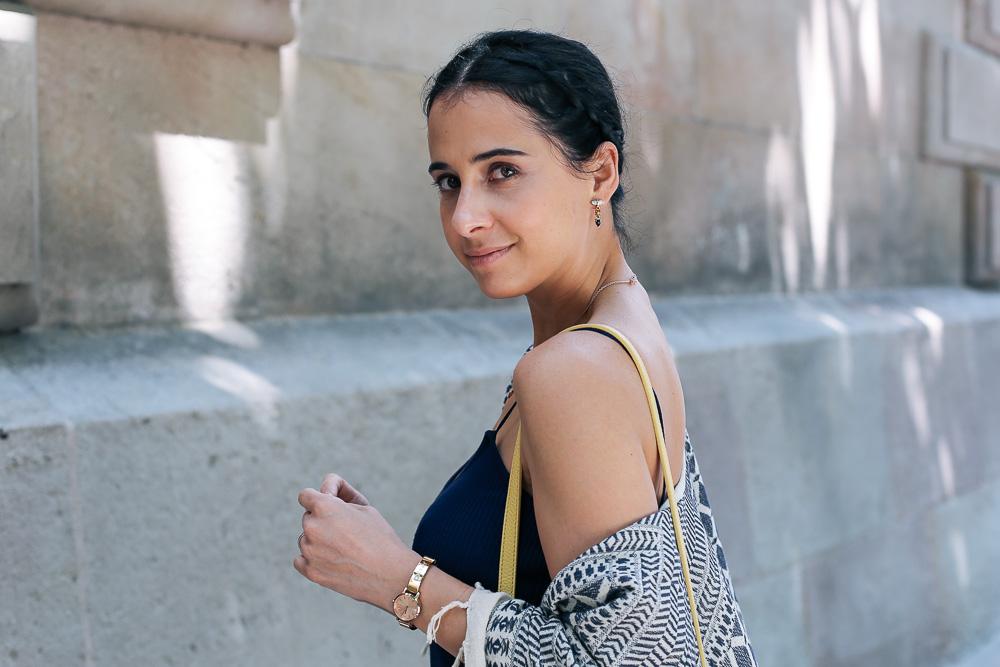 look-pantalon-blanco-kimono-becksondergaard-bolso-amarillo-streetstyle-barcelona-IMG_8214