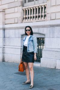 falda-piel-reciclada-ecologica-cinturon-camisa-blanca-barcelona-street-style-IMG_5097