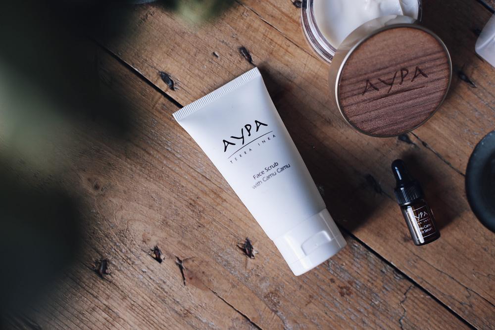 Aypa es una marca de cosmética natural nacida en Perú y afincada en España