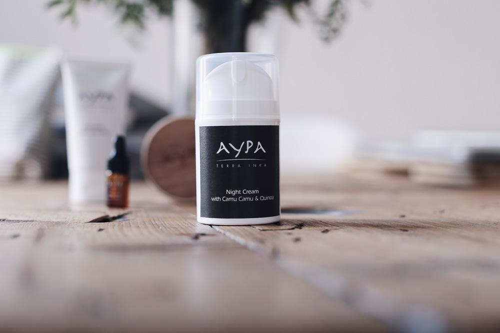 marca de cosmética natural aypa