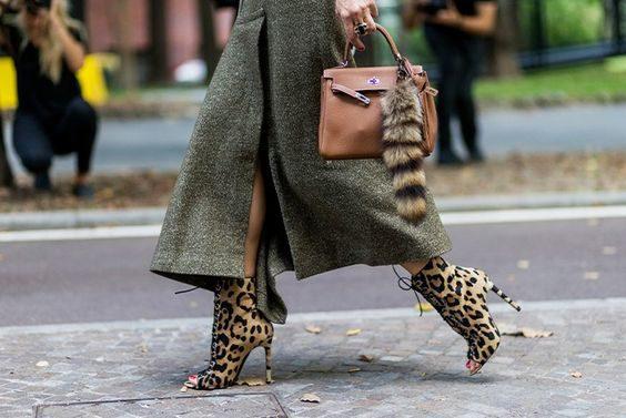 cómo combinar el estampado de leopardo