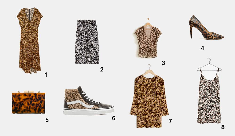 ¿Dónde comprar prendas con estampado de leopardo?